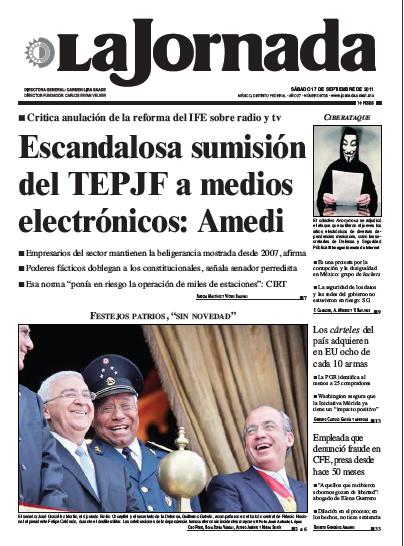 AMEDI en La Jornada
