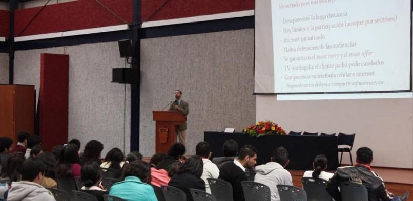 Conferencia de Bernardo Masini sobre pertinencia de la reforma en telecomunicaciones