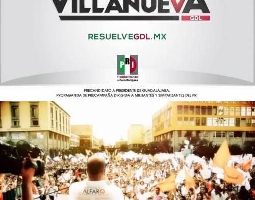 Simulaciones en spots de aspirantes a la alcaldía de Guadalajara