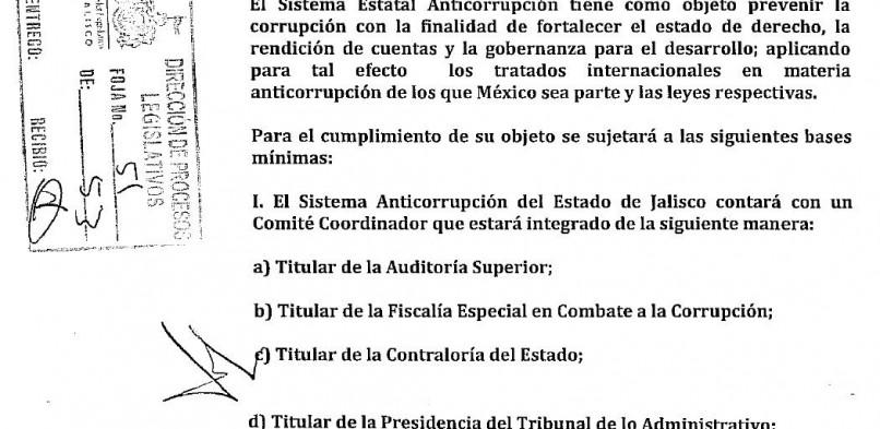 Anticorrupción en pedazos